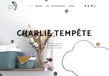 E-commerce charlie-tempete.fr