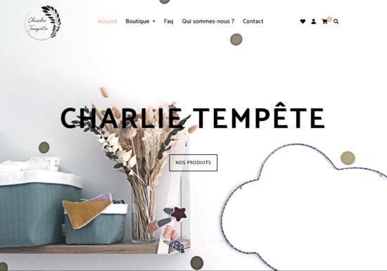 E-commerce charlie-tempete.fr