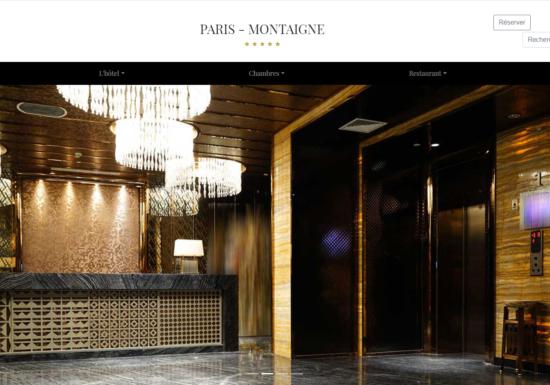 site vitrine hotelcop
